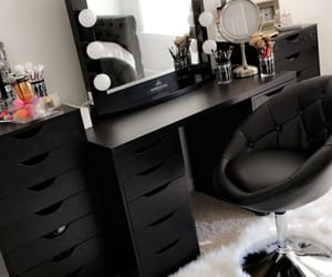 decor, vanity, and beauty room image