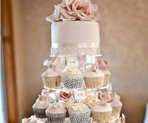wedding, wedding cake, and cake image