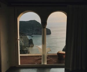 sea, view, and home image
