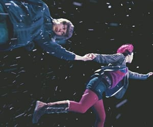 scott pilgrim and ramona flowers image