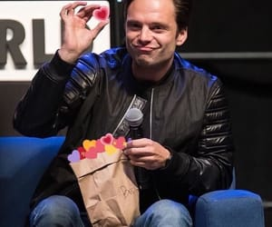 sebastian stan, Marvel, and plums image