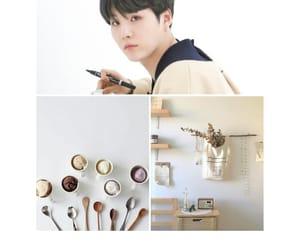 cream, bts, and yoongi image