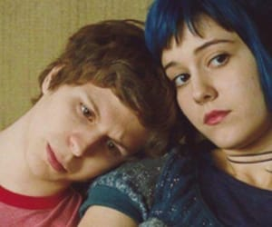 scott pilgrim, ramona flowers, and movie image