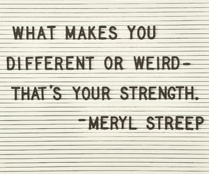 quotes, meryl streep, and weird image