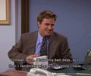 friends, smile, and chandler image