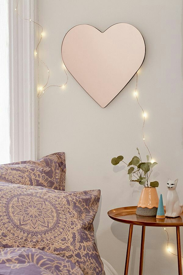 mirror, decor, and girly image