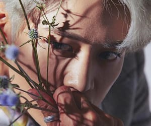 beauty, kpop, and flowers image