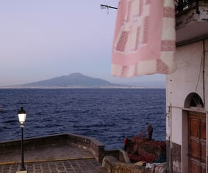 italy, napoli, and mare image
