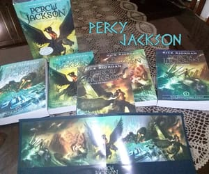 percy jackson, inspiration, and books image
