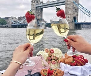 aesthetic, champagne, and chic image