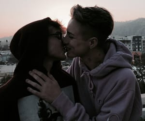 couple, cute couple, and justin blake image