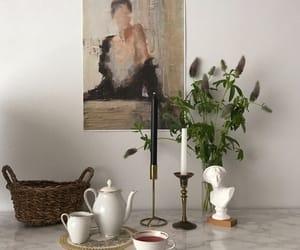 antique, art, and beige image
