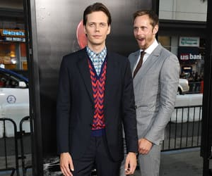 alexander skarsgard and bill skarsgård image