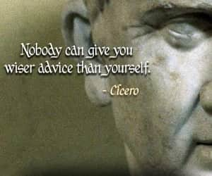 cicero and quote image