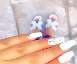 hermes, nail, and nail polish image