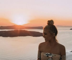 girl, Greece, and photo image
