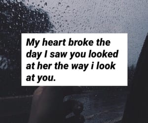 broken, broken heart, and cry image