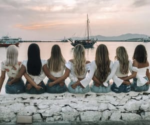 friend, girl, and girls image