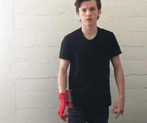 gif, tom holland, and spiderman homecoming image