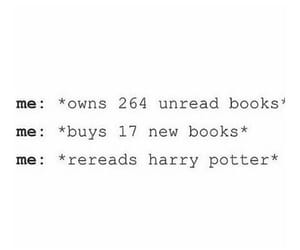 books, bookworm, and harry potter image
