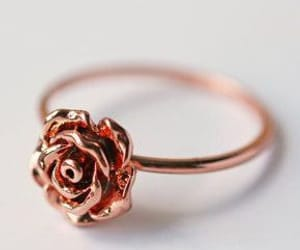 ring, style, and rose image