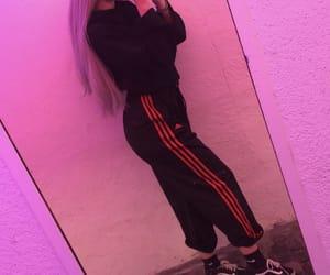 adidas, black, and body image