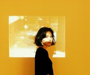 asian, photograph, and yellow image