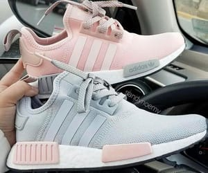 adidas, grey, and pink image