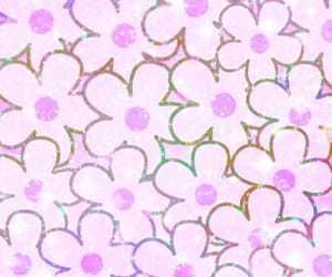 colorful, glitter, and petals image