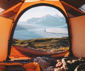 travel, nature, and camping image