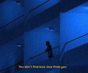 aesthetic, alone, and blue image