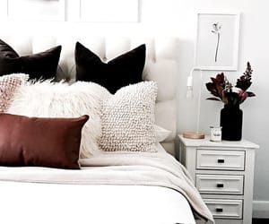 bedroom, home sweet home, and decoration image