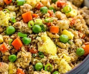 cauliflower, recipe, and vegetarian image