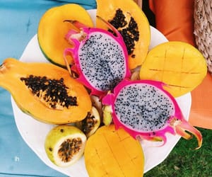 food, fruit, and summer image
