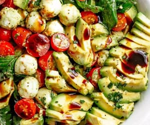 salad and vegetarian image