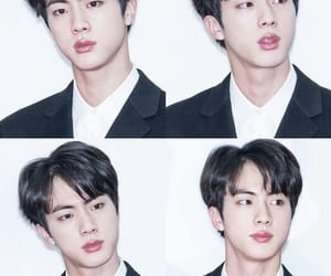 army, jin, and oppa image