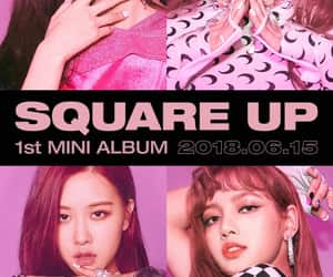kpop, square up, and lisa image