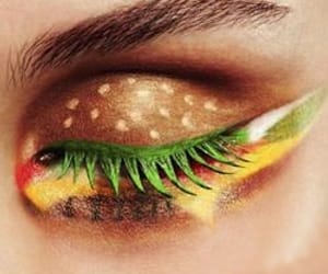 artistic, eye, and make up image