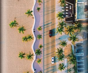 beach, california, and pattern image