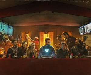 art, captain america, and Marvel image