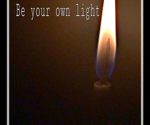 light, be light, and love yourself image