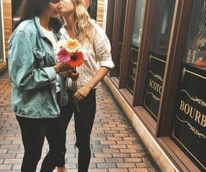 femme, flowers, and gay image