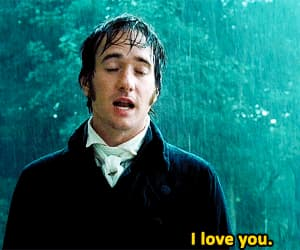 I Love You, mr darcy, and movie image