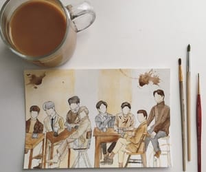 beige, coffee, and exo image
