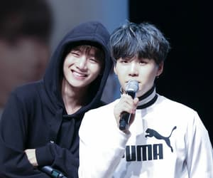couple, kpop, and rapper image