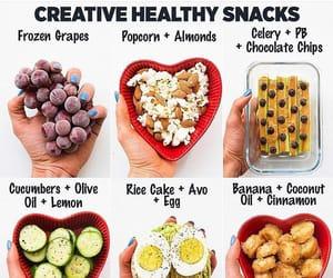 healthy, snacks, and good food image