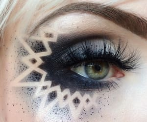 art, lashes, and tumblr image