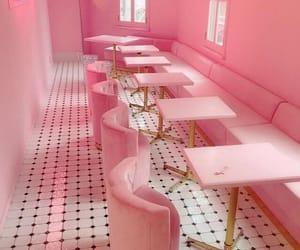 cafe, pastel, and diner image