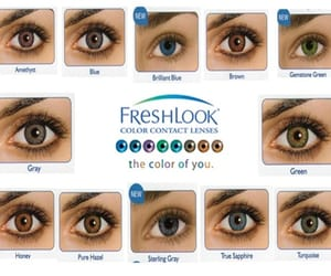 colors contact lenses image