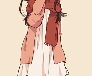 anime, mikasa, and kawaii image